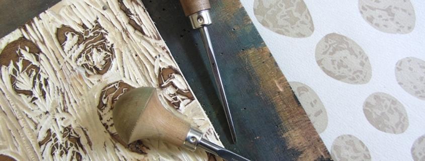 Holzschnitt Kursangebot